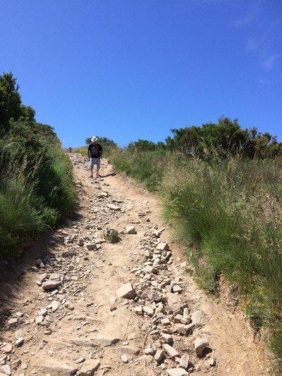 Descend to El Acebo