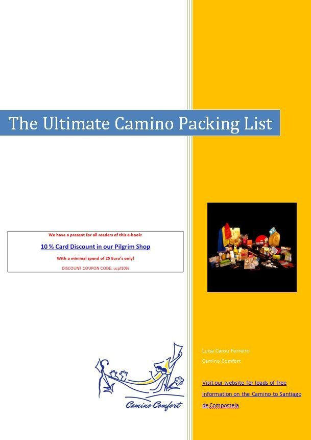 Ultimate Camino Packing List