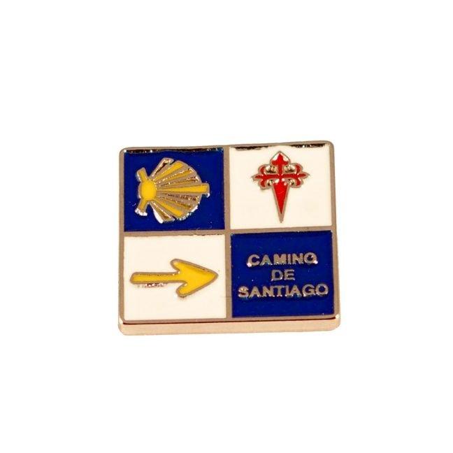 Camino symbols pin