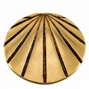 Copper Camino Shell Marker