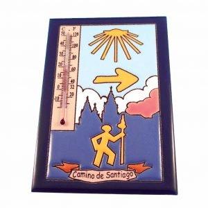 Thermometer Pelgrim Handgemaakte Keramiek
