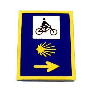 Camino Fiets Verkeersbord
