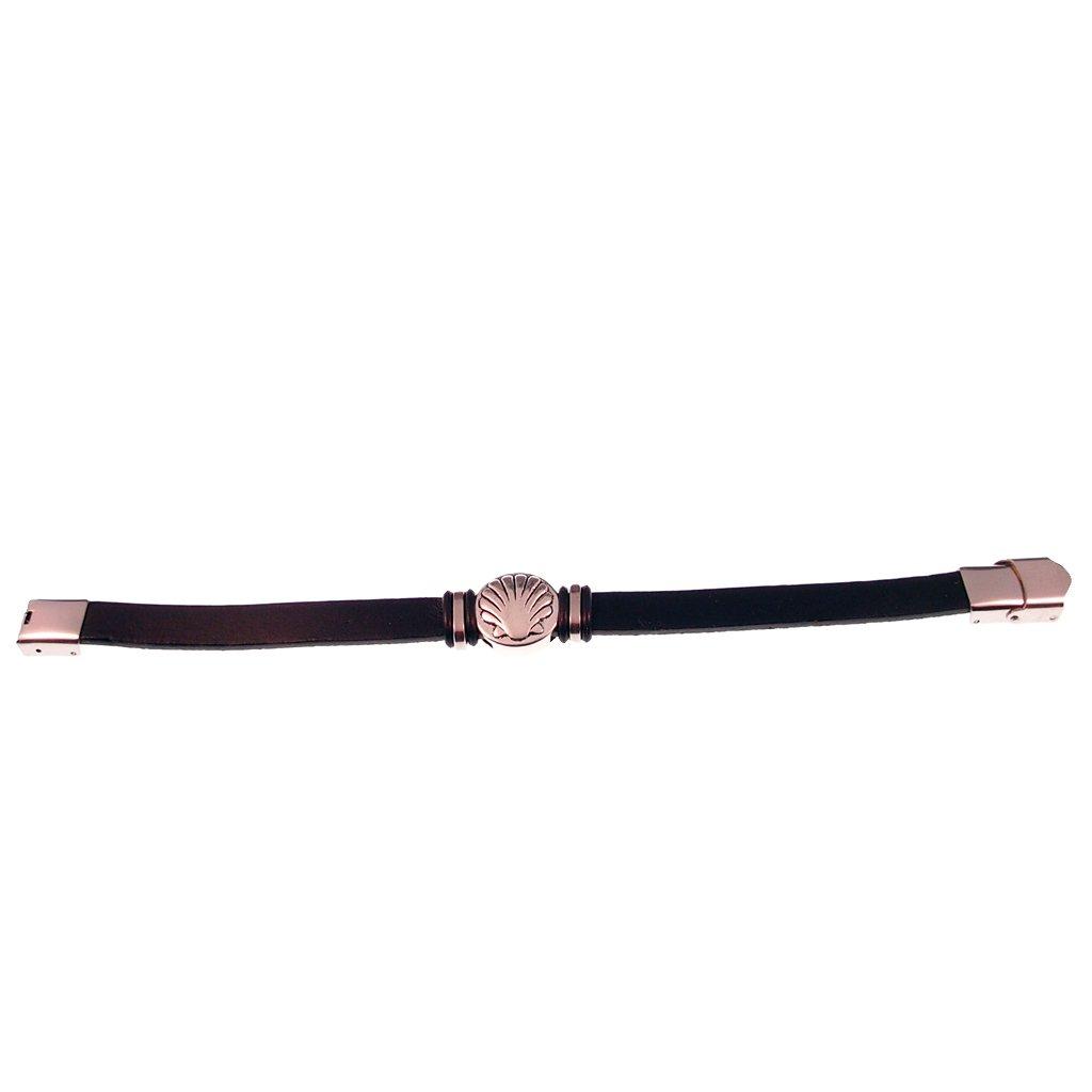 Lederen Armband Santiago Schelp