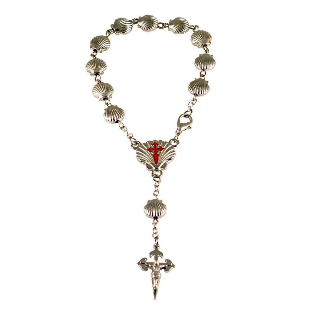 st James rosary Cross of Santiago de Compostela