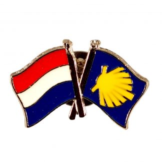dutch camino flag pin