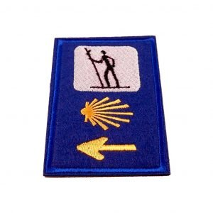 Camino Patch Pelgrim