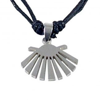 Modern Steel Shell Necklace