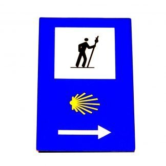 Pilgrim Traffic Sign Magnet