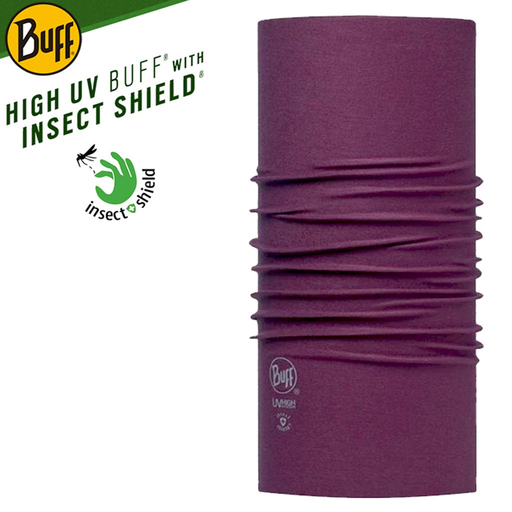 Buff insect shield purple