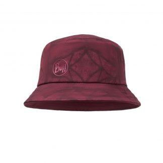 Travel Bucket Hat Calyx Dark Red
