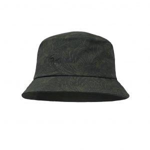 Trek Bucket Hat Checkboard Moss Green