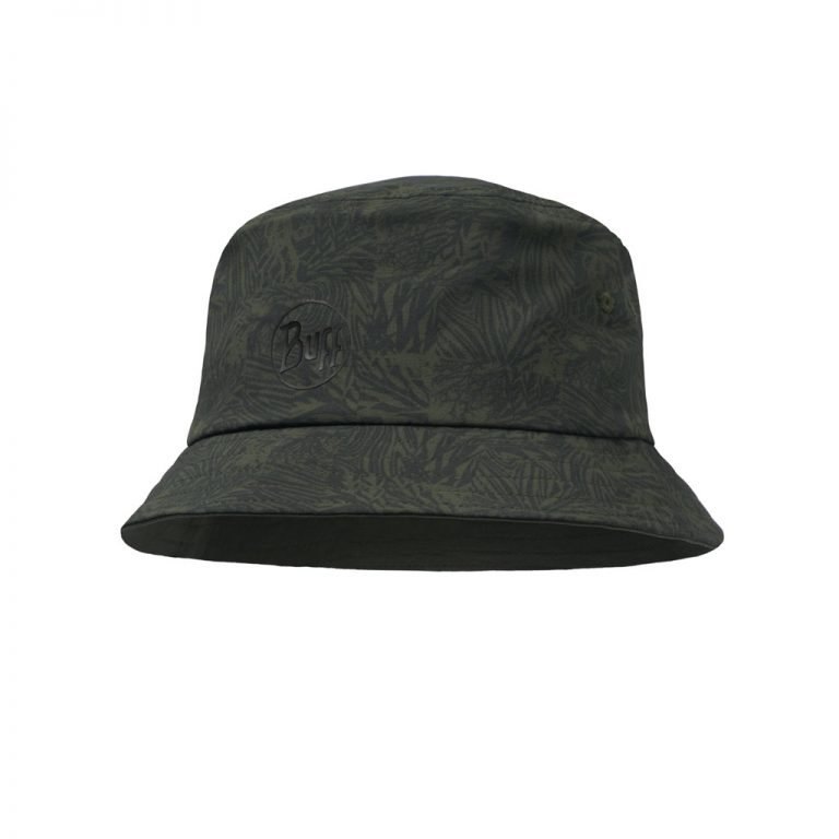 Trek Bucket Hat Checkboard Moss Green