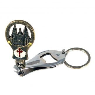 Key chain Nail Clippers Bottle Opener