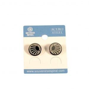 Modern Camino Shell Stud Earrings