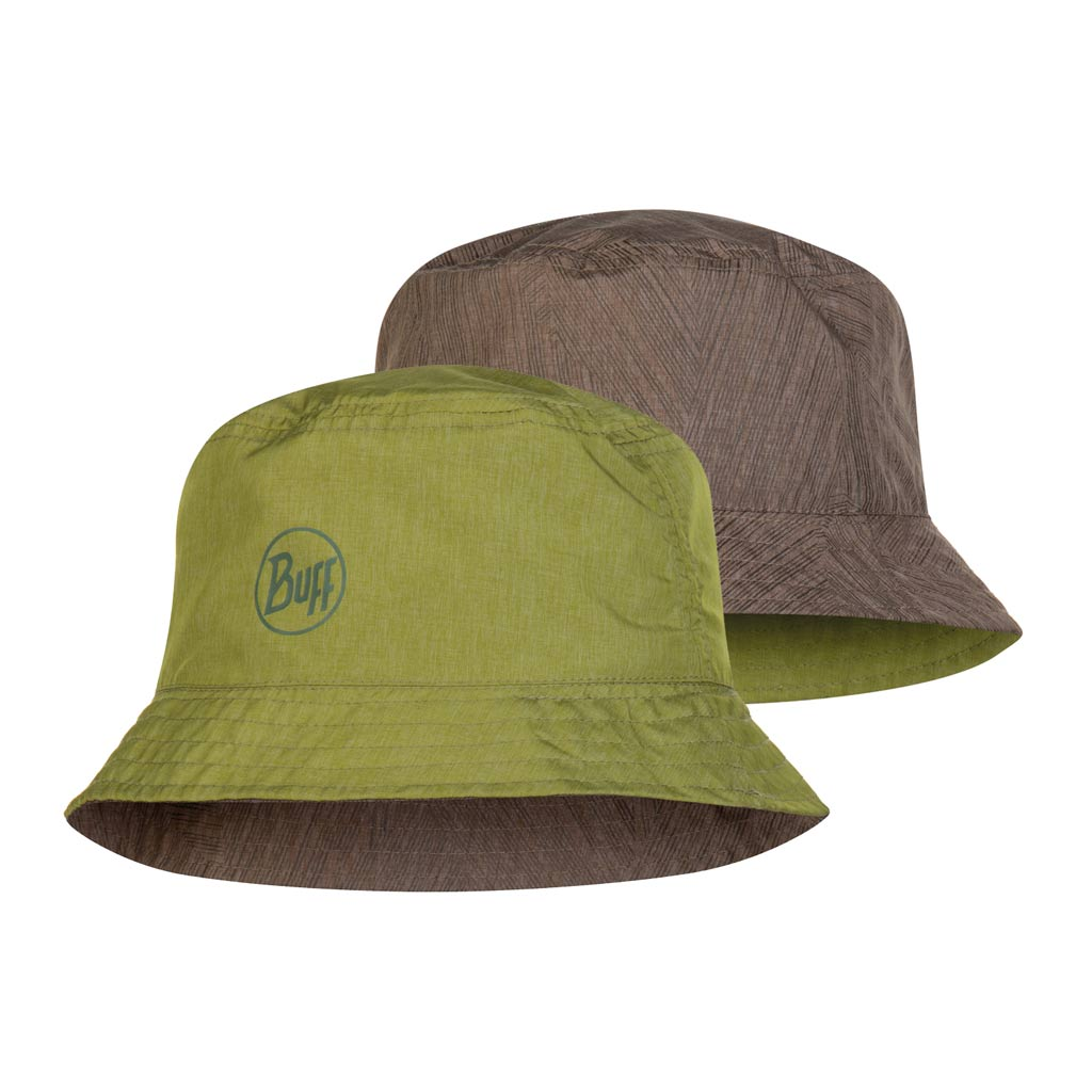 Buff Travel Bucket Hat shady khaki